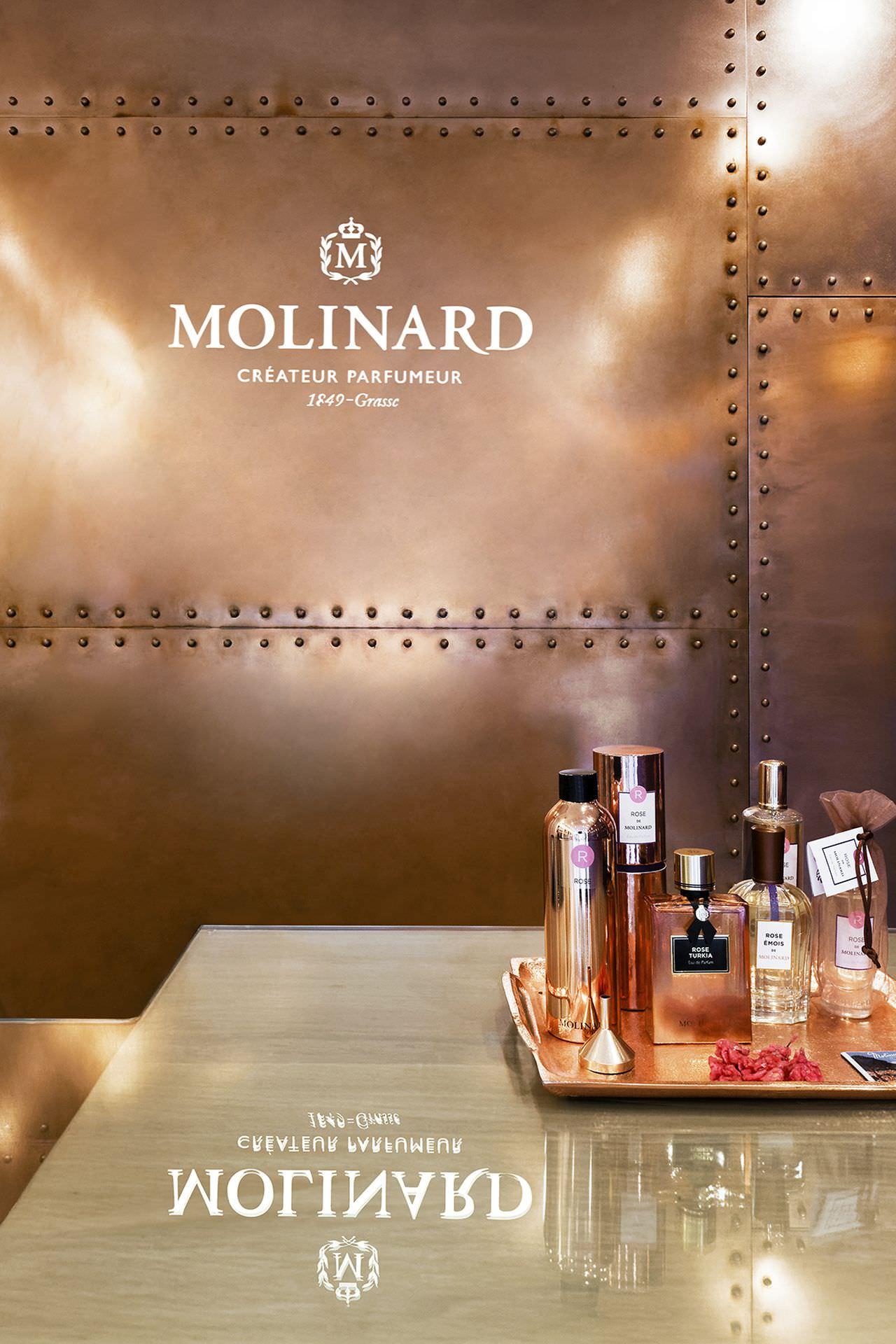 amenagement boutique Molinar Paris